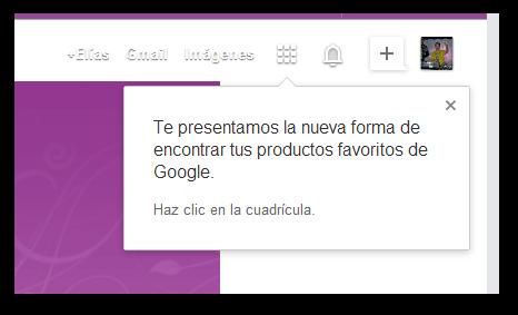 Nuevo panel de Google en la página de inicio de Google Chrome Beta 30