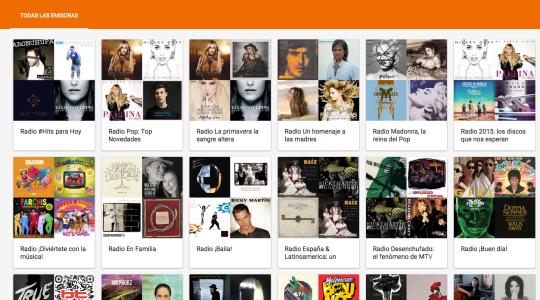Novedades Google Play Music