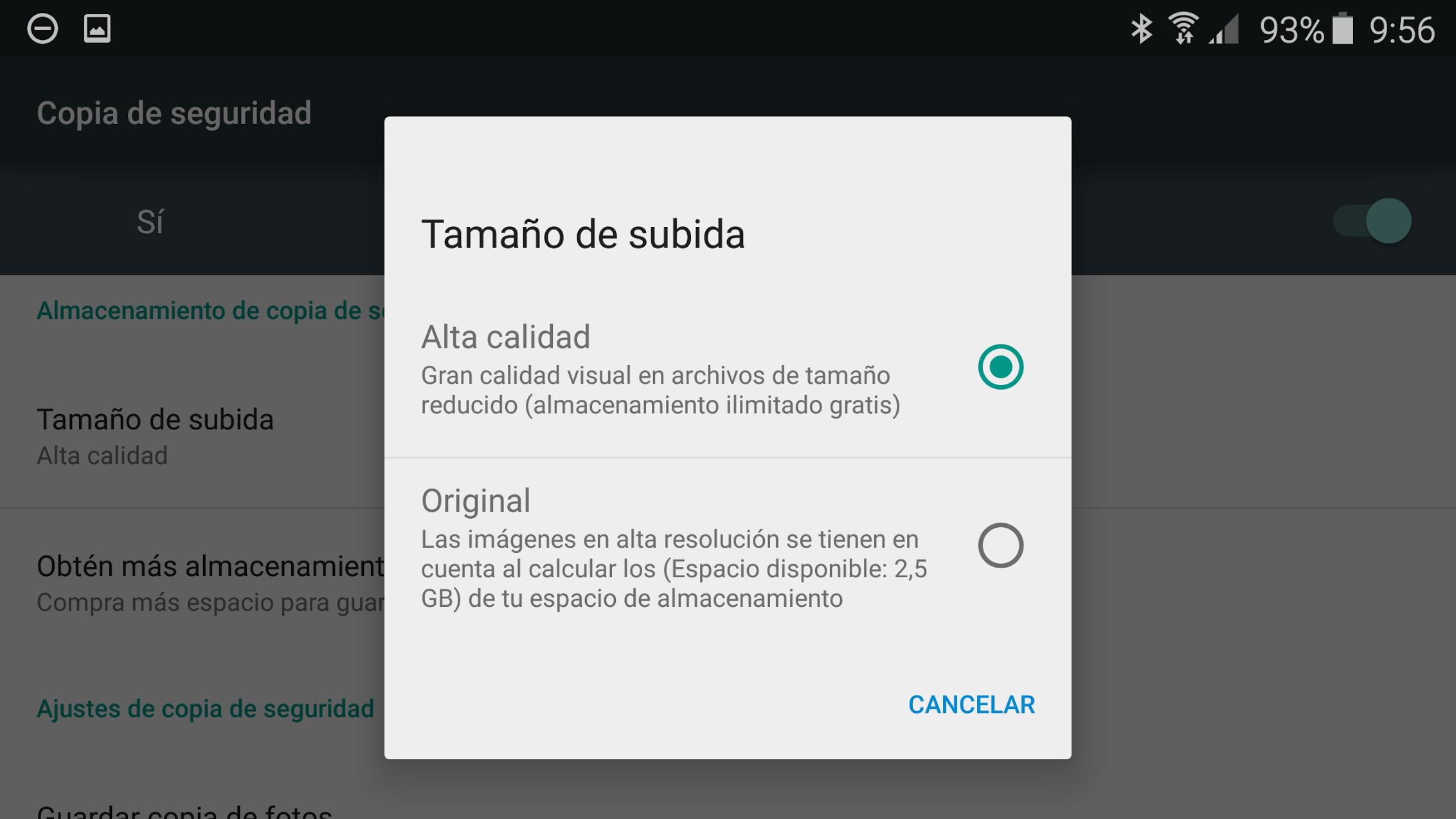 Google Fotos deja de ofrecer almacenamiento ilimitado para archivos .VOB y RAW