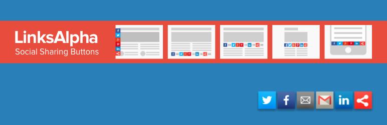 Social Buttons by LinksAlpha — WordPress Plugins