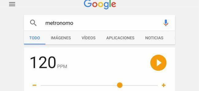 Google estrena metrónomo, descubre cómo se activa