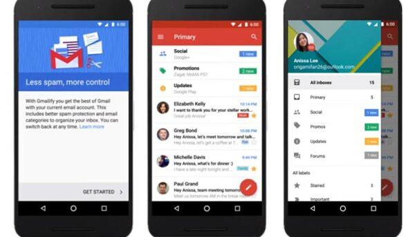 Gmailify, las ventajas de Gmail para todas tus cuentas de correo