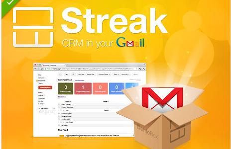 Ahora Streak CRM te permite gestionar tus cajas desde Google Sheets