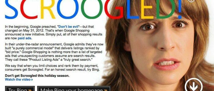 Google Chromebook vs Microsoft Scroogled