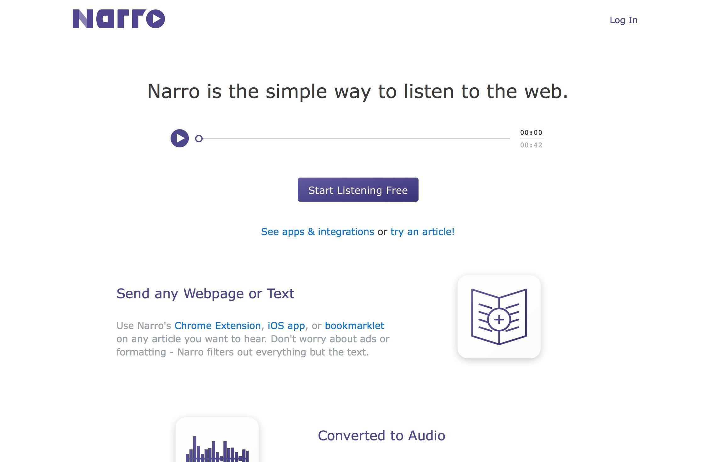 Narro añade conversión de vídeos de YouTube y Vimeo a su plan Pro
