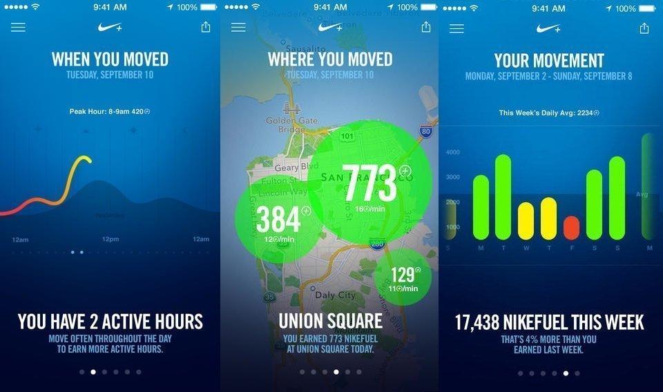Nike+ Move & Almacenamiento Android