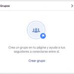 Ahora se pueden crear Grupos vinculados a las Páginas de Facebook