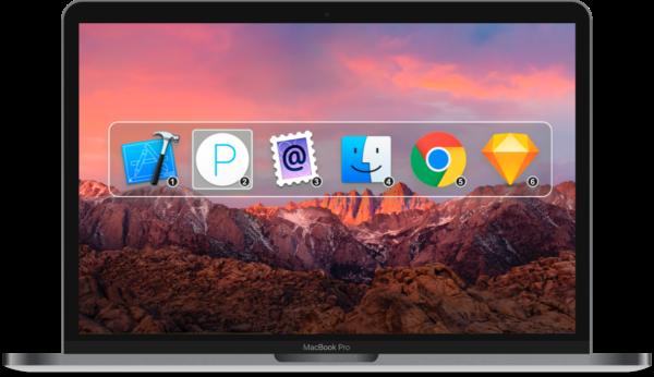 Command-Tab Plus, aplicación para cambiar entre aplicaciones que mejora el sistema nativo de macOS