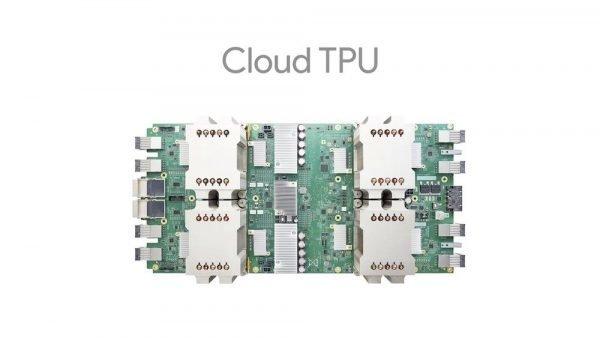 foto de un Cloud TPU