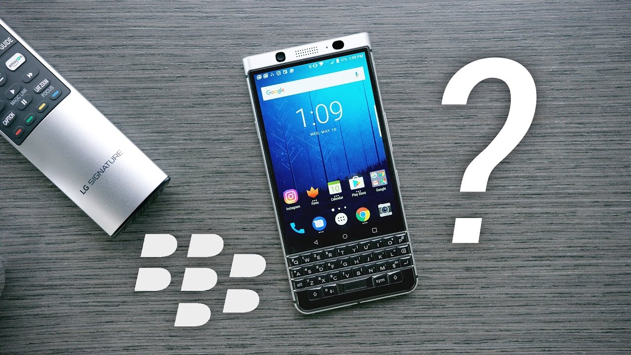 Blackberry presenta nuevo modelo: KEYOne