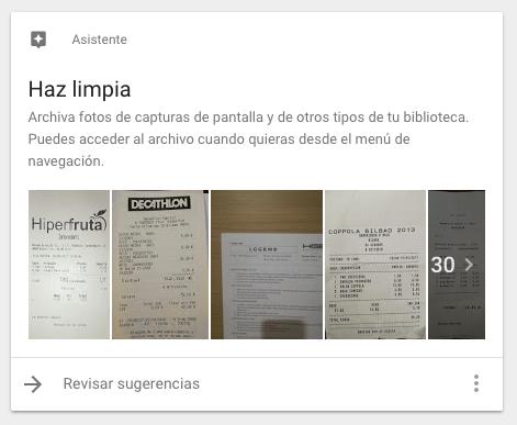 Ahora Google Fotos te sugiere imágenes para archivar con Machine Learning