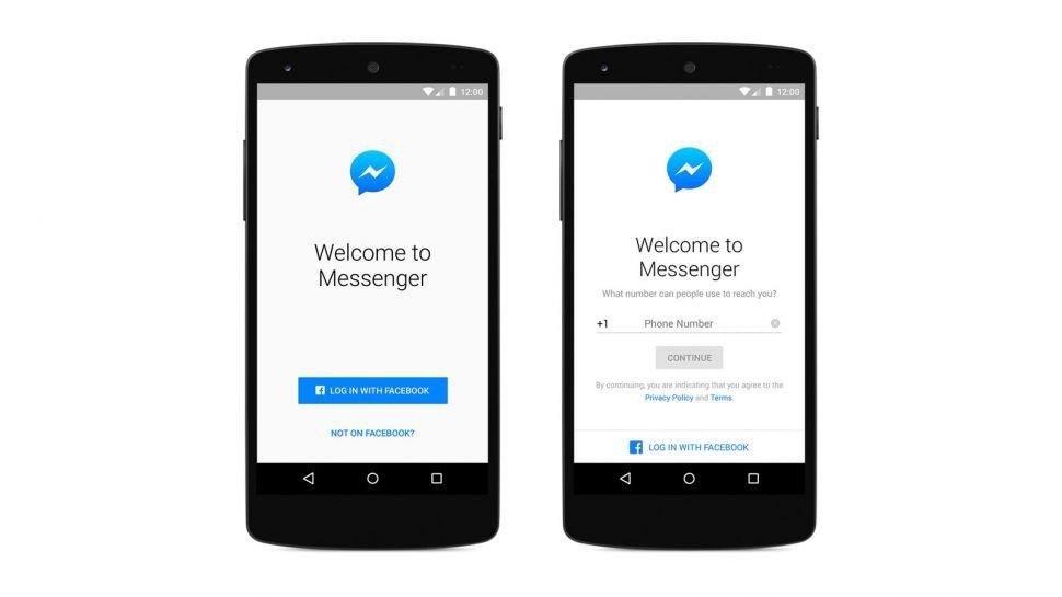 Facebook Messenger ya no requiere perfil en la red social, con tu número vale