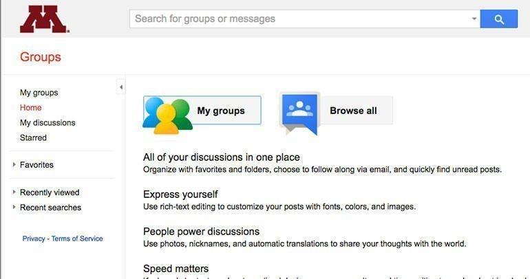 Google Groups para tus comunidades online y equipos de trabajo