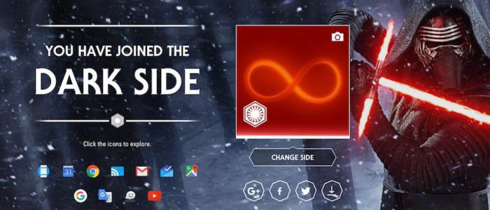 Google Star Wars y nuevo Google+