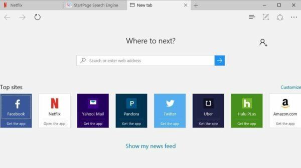 Vídeo de presentación de Microsoft Edge