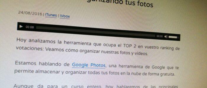 """Comentarios al episodio """"596. Organizando tus fotos"""" de @JoanBoluda"""