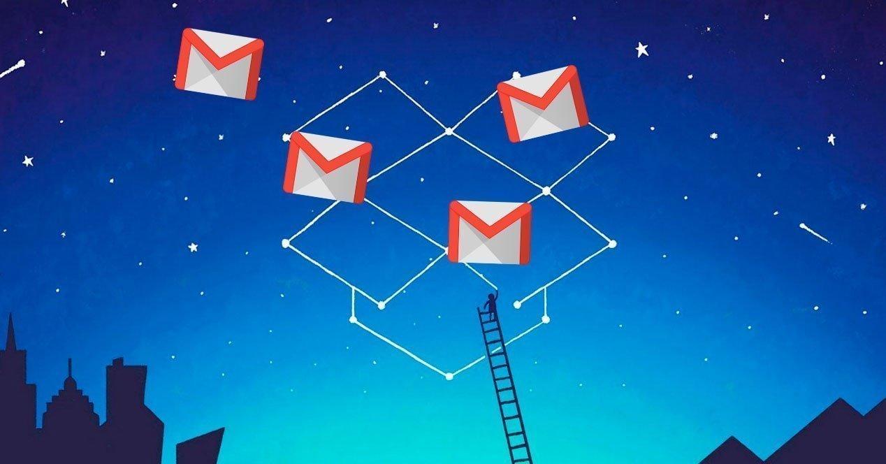 Dropbox se integra con Gmail y te permite adjuntar archivo desde su servicio mediante una extensión