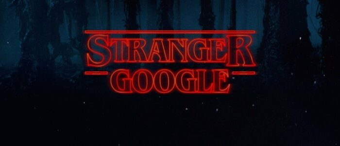 Stranger Things from Google (y Regram)