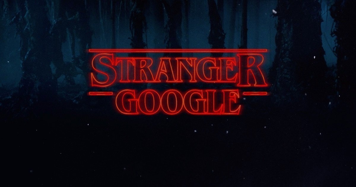 Stranger Things from Google (y Regram)