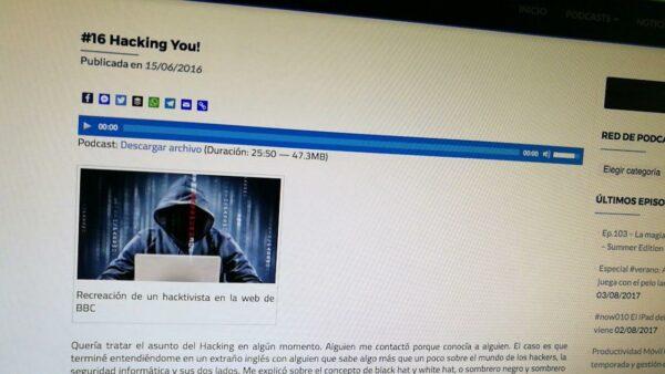 Audio que sirve como guía básica sobre el mundo de la privacidad en Internet y el hacking