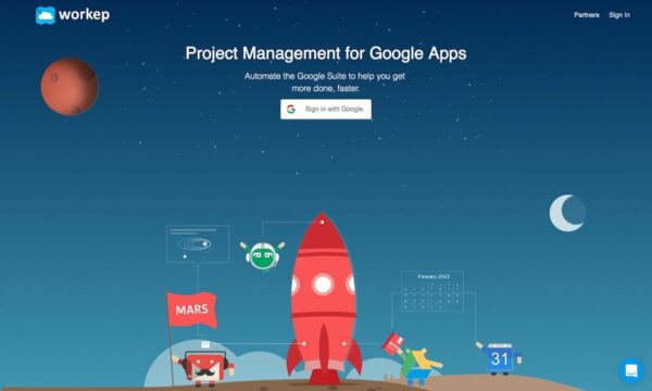Workep: Project management for Google Apps