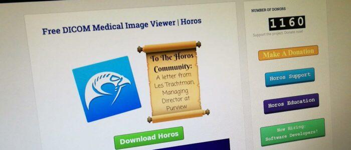 Horos, programa gratis para ver imágenes DICOM de TAC