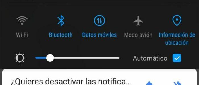 Android te ofrece poner el modo silencio cuando detecta que estás en un hospital