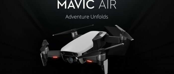 DJI Mavic Air - Adventure Unfolds