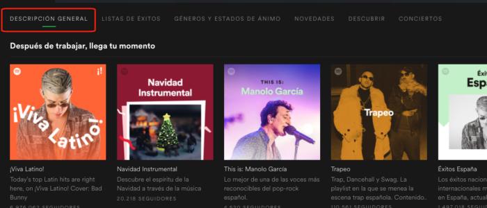 Traducciones imprecisas: Resumen en Spotify