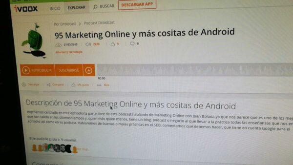 95 Marketing Online y más cositas de Android