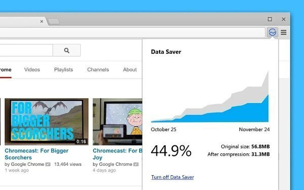 Chrome Data Saver, ahorra datos como haces en Android desde tu ordenador