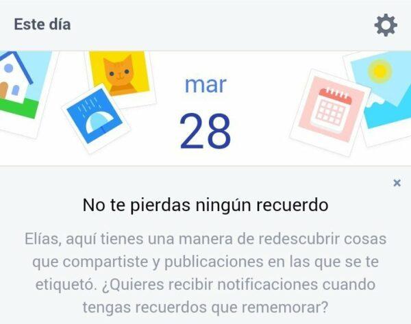 Facebook ahora te recuerda lo que hiciste en años anteriores en el mismo día, al más puro estilo Timehop
