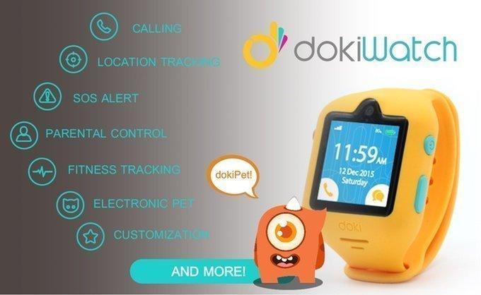 dokiWatch, el smartwatch para niños con videollamadas, GPS, seguimiento de actividad, y mucho más