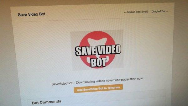 Con Save Video bot puedes descargar vídeos de redes sociales