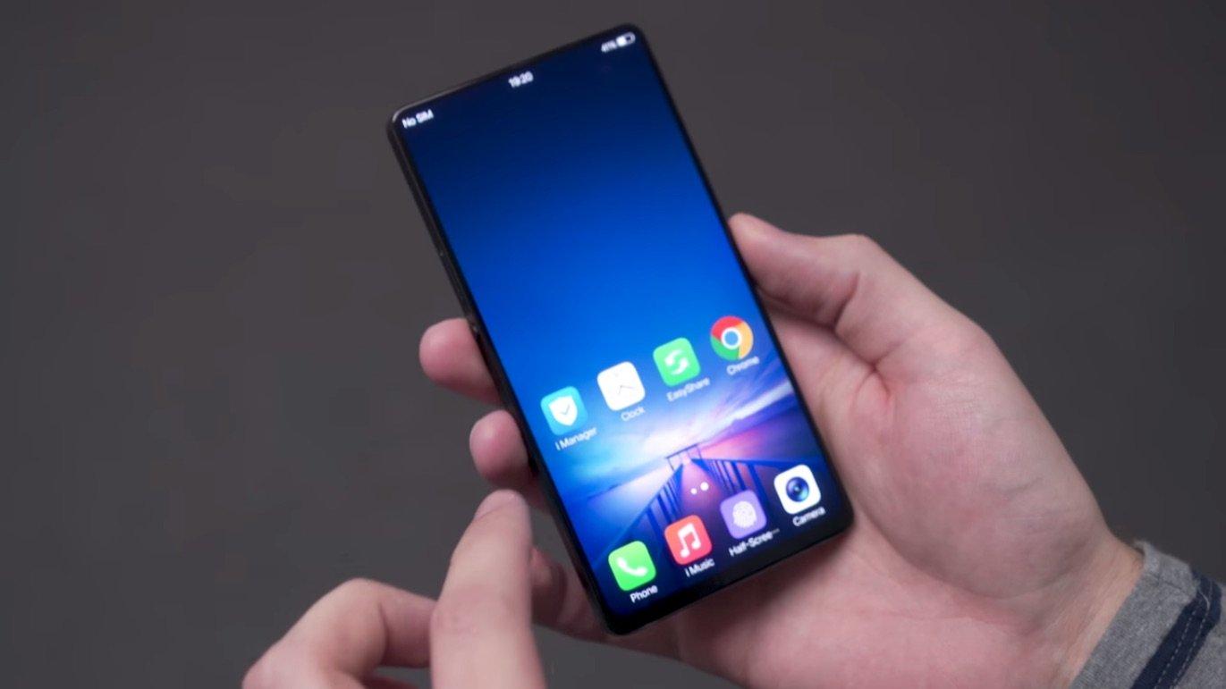 El móvil que es todo pantalla: Vivo Apex Concept Phone