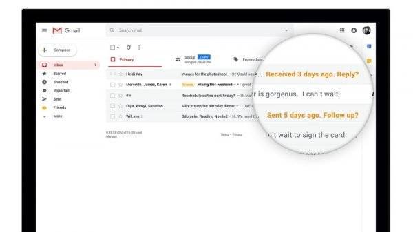 162. Rediseño de Gmail con Material Design