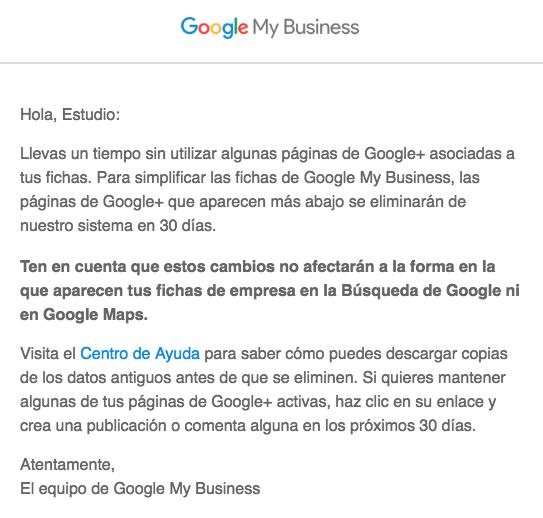 Resumen semanal: avisos de Google, compras de empresas y trucos