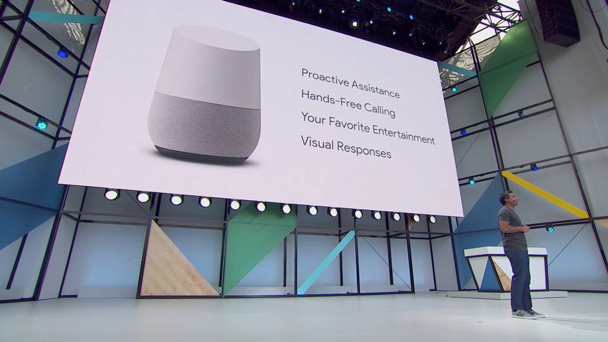 Google I/O 2017: Google Home, llamadas gratis y nuevas capacidades