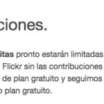 Flickr destroza el plan gratuito tras su compra por parte de SmugMug
