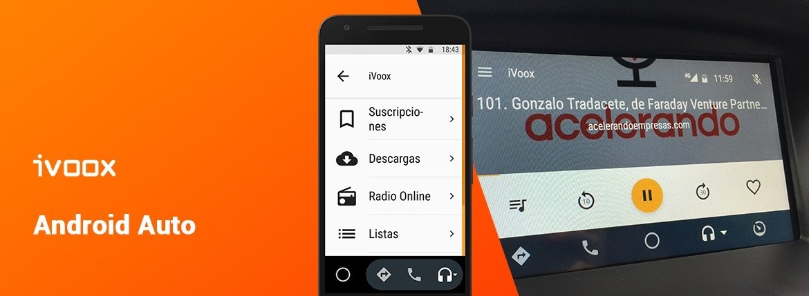 iVoox se hace compatible con Android Auto