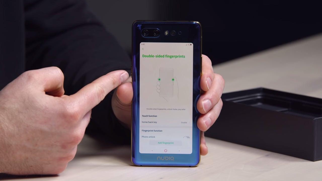 Nubia X, el smartphone que cambia la cámara delantera por una pantalla trasera