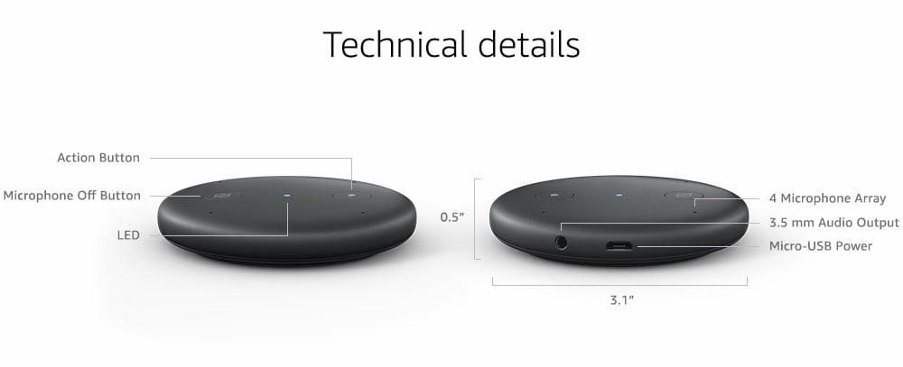 Echo Input, el nuevo dispositivo de Amazon para que lo uses con tu propio altavoz o equipo de sonido