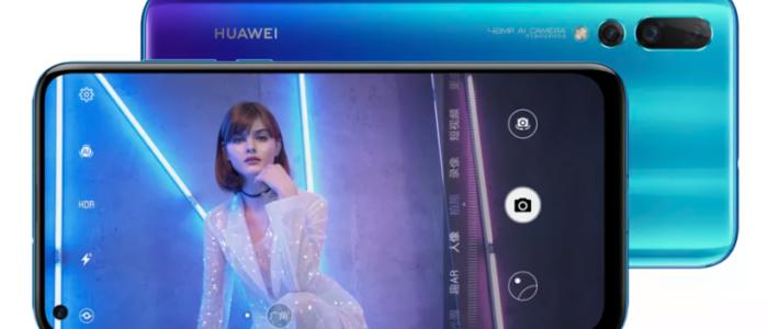 Huawei presenta el Nova 4, un todo-pantalla con un agujero para la cámara frontal