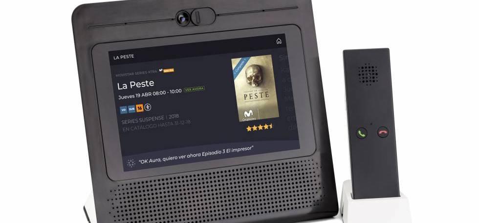 Movistar Home, la pantalla «inteligente» con Aura y solo para clientes