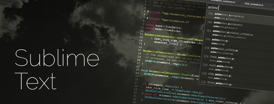 Como activar los atajos de teclado en Sublime Text