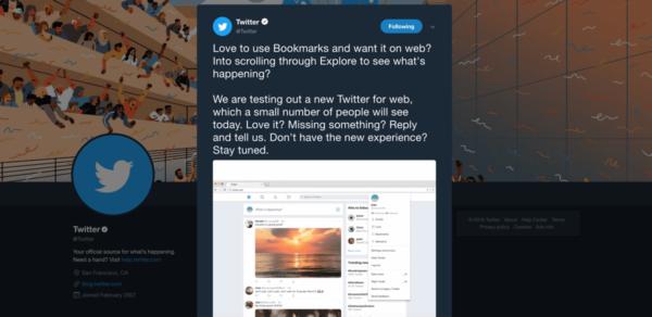 Los Elementos guardados de Twitter llegan a la web con su nueva versión