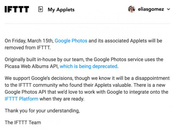 Resumen semanal sobre servicios web: novedades de Google y cosas de Instagram