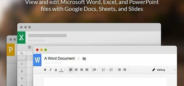 Convierte Google Chrome en Microsoft Office con esta extensión gratuita de Google