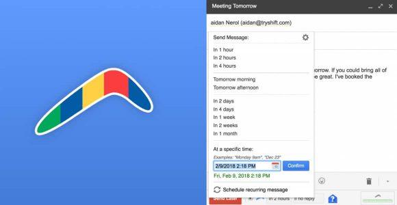 ¿Cuántas de estas 15 funcionalidades de Boomerang no conoces?