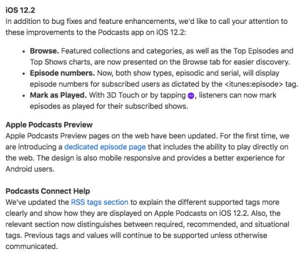 Podcasting: noticias y cronología